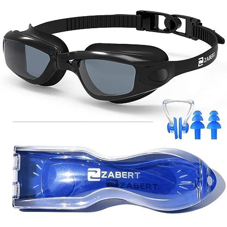 8334a2725acc Occhialini da nuoto Zabert, impermeabili, anti-appannamento, protezione dai  raggi UV,
