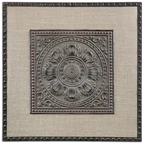 Uttermost 13826 Filandari Stamped Metal Wall - Square Times York Outlet In New