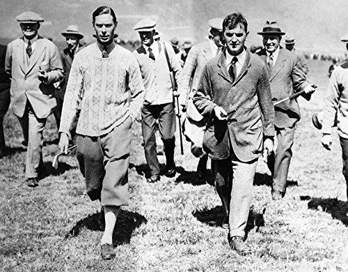 George Vi (1895-1952)Nking Of Great Britain 1936-1952 Photographed When Duke Of York After A Golf Match On A Welsh Course Photograph Poster Print by (24 x 36)