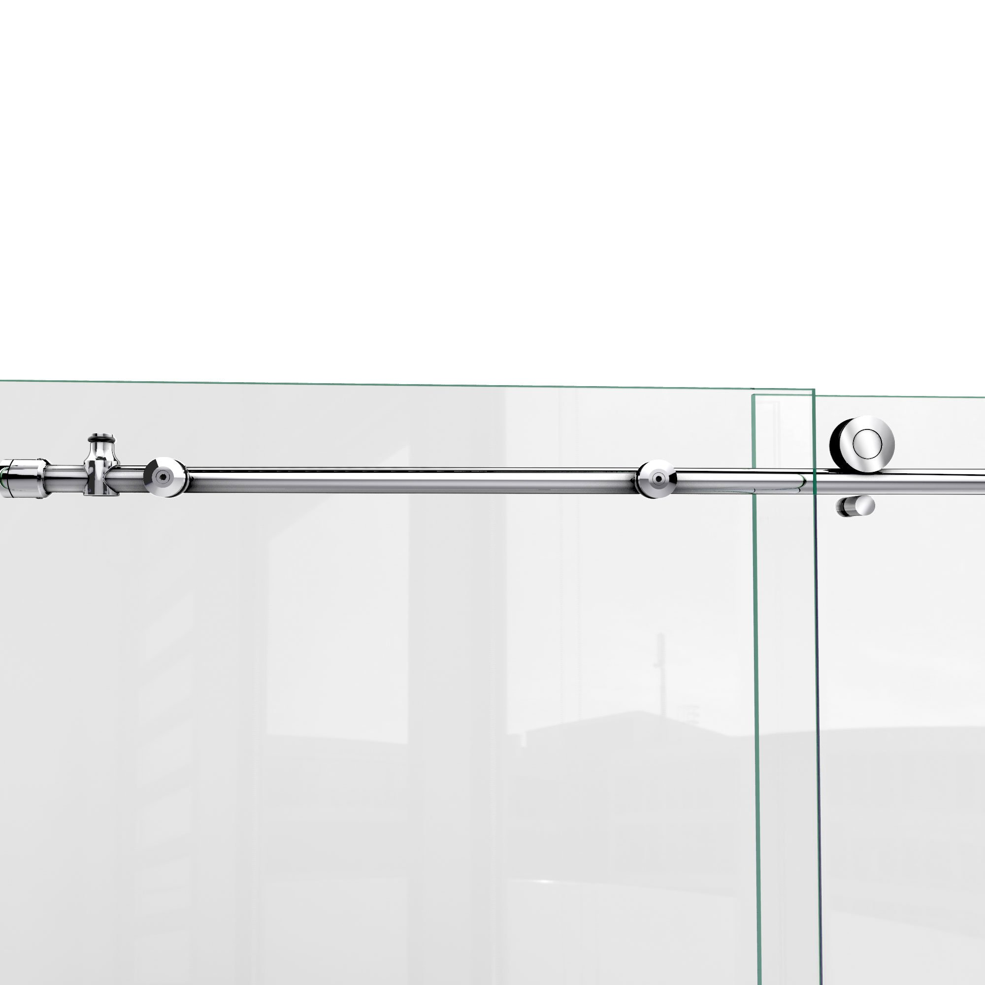 DreamLine Enigma-X 55-59 in. W x 62 in. H Fully Frameless Sliding Tub Door in Polished Stainless Steel, SHDR-61606210-08 by DreamLine (Image #14)
