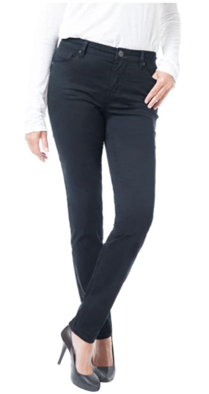 Buffalo David Bitton Ladies' Peached Skinny Pant Black 10/30