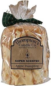 Thompson's Candle Co Apple Dumpling Pillar Candles