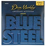 Dean Markley Blue Steel Cryogenic Activated Acoustic Strings, 10-47, 2032, Extra Light