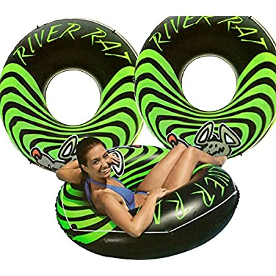 3-Pack Intex River Rat 48-Inch Inflatable Tubes For Lake/Pool/River | 3 x 68209E: Sports & Outdoors