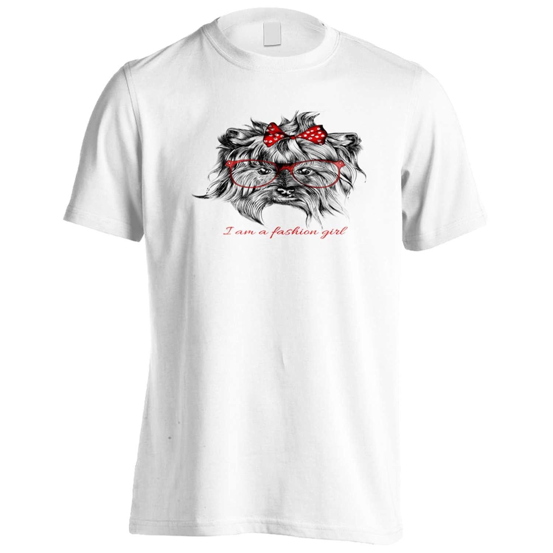 I am a fashion Girl Yorkie Yorkshire Terrier Men's T-Shirt Tee p29m