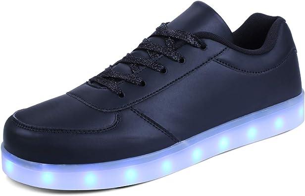 kealux LED Shoes Low-Top Light Up Shoes