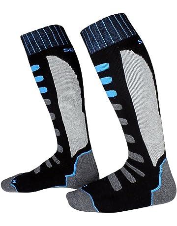 Barrageon Calcetines de Esquí de Invierno Térmico Calientes para Esquiar, Snowboard, Ciclismo, Trekking
