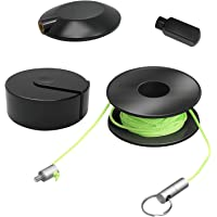 Repair Wire Fishing Tools for Garden /& Park Wire mag Puller Set Magnetic Snap Wire Guider Tawohi 4PCS//Set Wire Pulling Tool Convenient Wire Cable