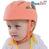 DearJoy Baby Safety Helmet with Corner Guard & Proper Ventilation (Orange)