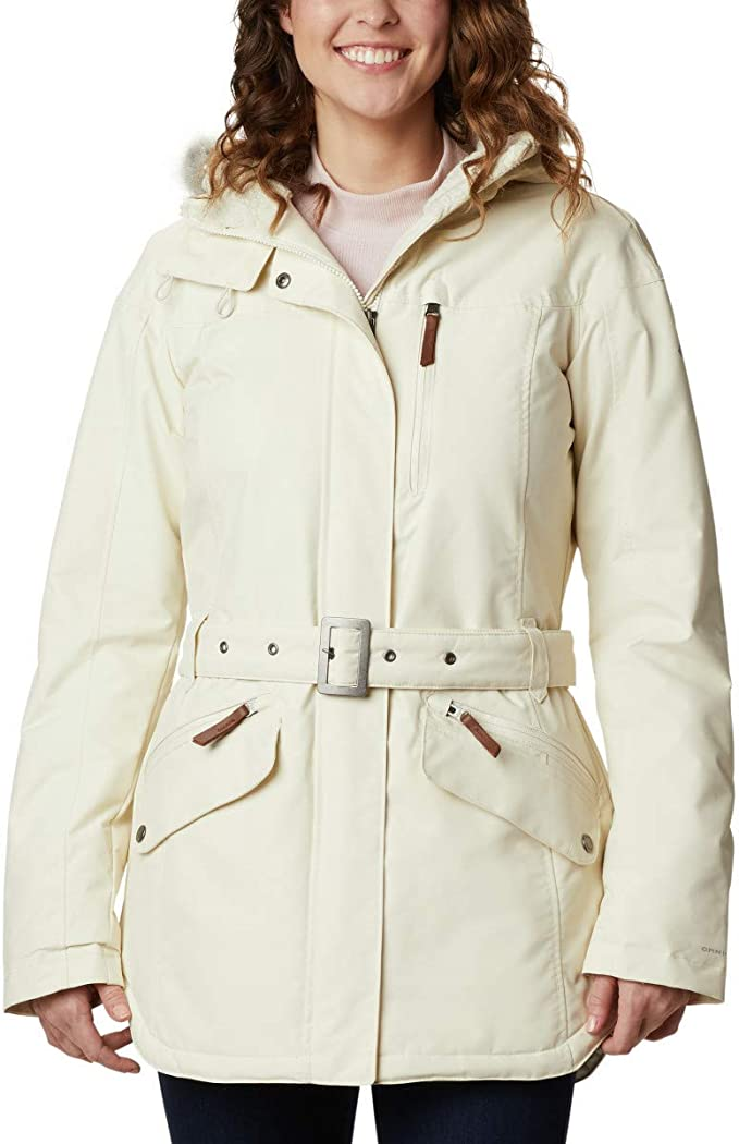 Columbia Carson Pass II Chaqueta Impermeable, Mujer
