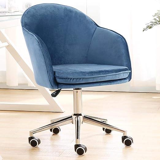 Comif- Silla de Oficina de Terciopelo con sillón Ajustable ...