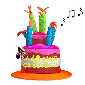 Les Trésors De Lily [Q5468 - Gorro de cumpleaños Musical 40 ...