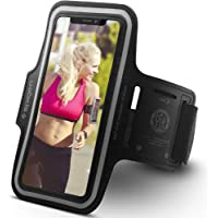Spigen Running Phone Armband Compatible for Most Cell Phone & Accessories A700 - Black