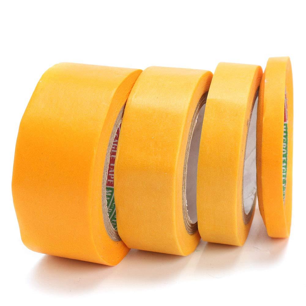 DIY Modeling Tools Masking Tape Durable Roll Yellow Modeler Car Car Paint Hanbaili