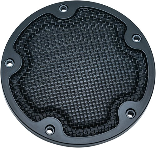 Motorcycle Derby Cover - Kuryakyn 6524 Mesh Derby Cover for '99-'17 Twin Cam, Chrome