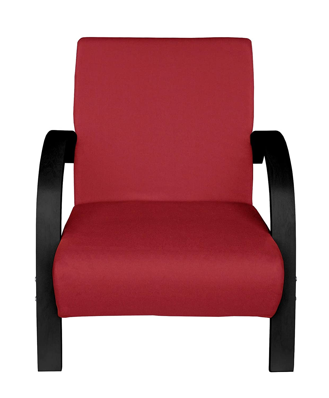 Beige mit Schwarz Moments of Glass Polstersessel Einzelsofa 1Sitzer Sofa Einsitzer Beistellsessel Stoffbezug mit hochwertige Polsterung