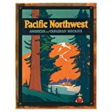 Best Northwest body pillow - Wood-Framed Pacific Northwest Metal Sign: Train and Railroad Review