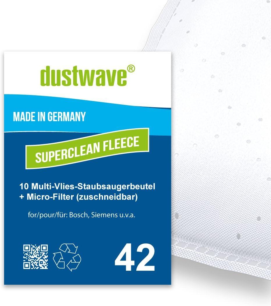 Pack de ahorro – 10 bolsas de filtro para Ufesa – Mini Mousy Aspiradora – dustwave® Marca Bolsa para el polvo/Fabricado en Alemania + Incluye Micro filtro: Amazon.es: Hogar