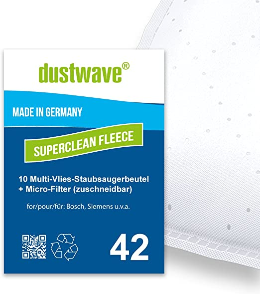 Pack de ahorro – 10 bolsas de filtro para Bosch – BSG 1700 Arriva ...