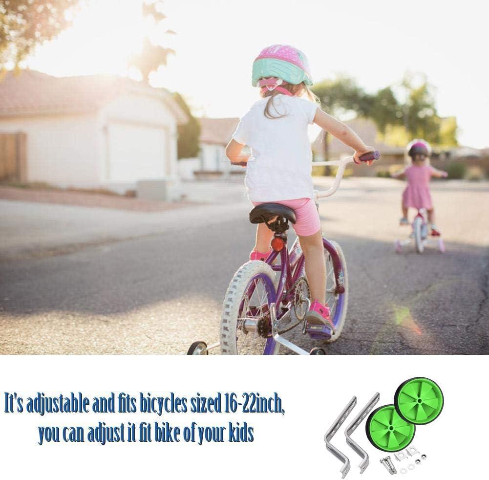 Sunshine smile Roues dEntra/înement Bicyclette,Roues dentra/înement r/églables pour Enfants,Stabilisateurs de Roue de v/élo
