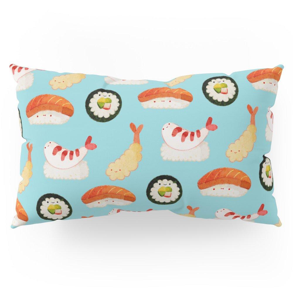 Society6 Sushi Time Pillow Sham King (20'' x 36'') Set of 2