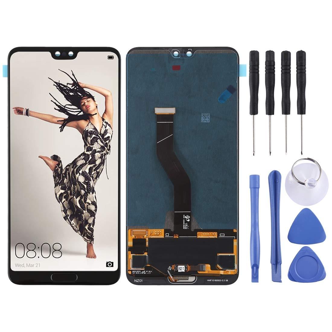 携帯電話の交換部品 Huawei P20 Pro用LCDスクリーンとデジタイザフルアセンブリ B07PS6PL46
