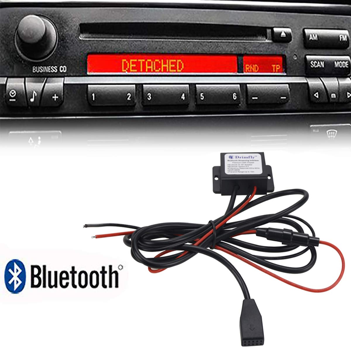 Moonet AUX Input Adaptor CD Changer Cable for BMW E46 MP3 iPod iPhone Apple Female Jack 4350466343