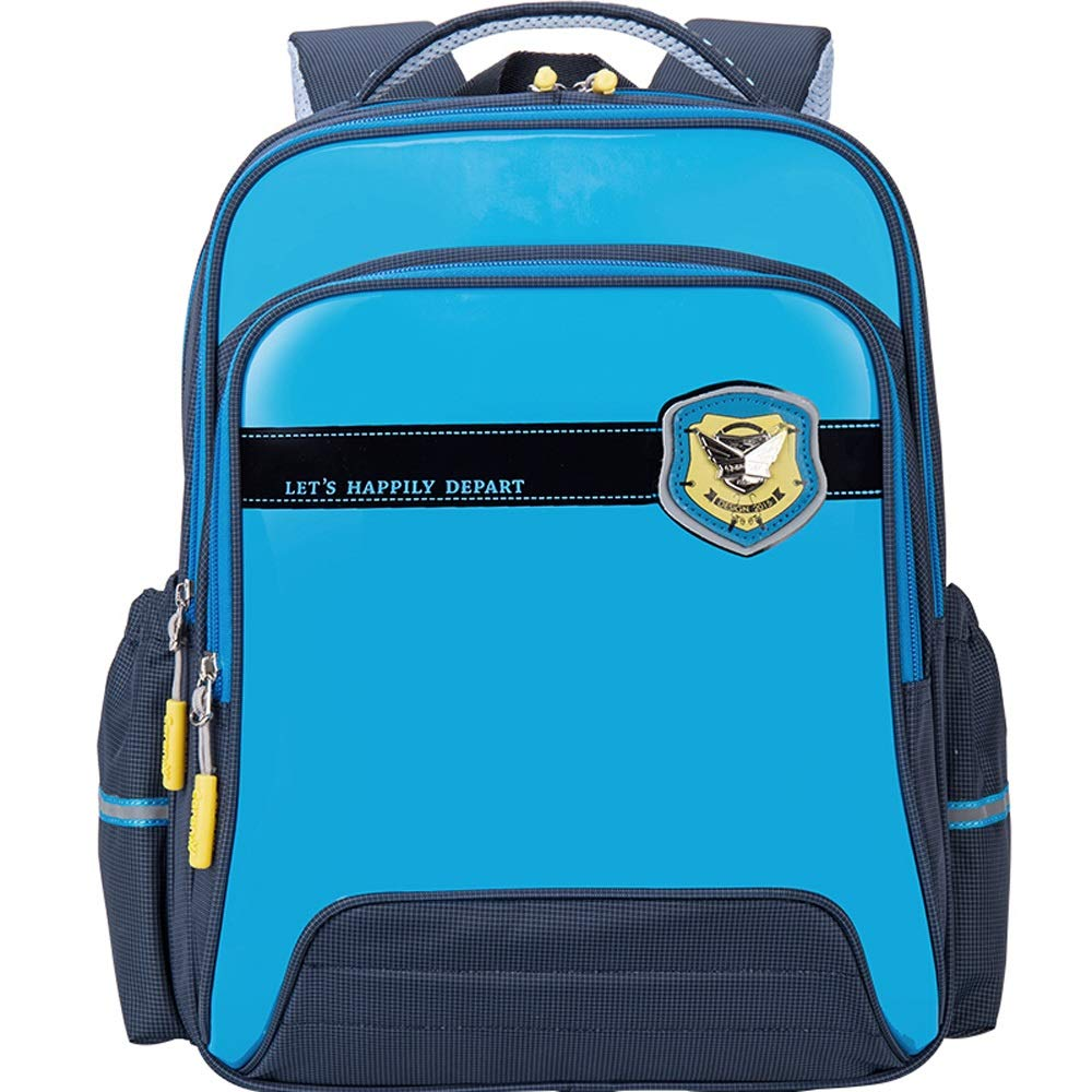 Color : Blue YONGMEI Backpack Student Bag Backpack Boy and Girl Backpack Backpack