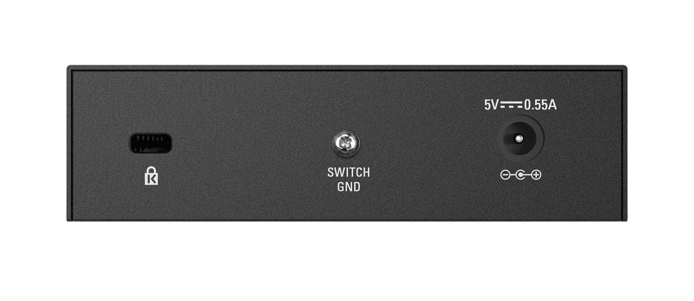 DES-108 D-Link 8 Port 10//100 Unmanaged Metal Desktop Switch