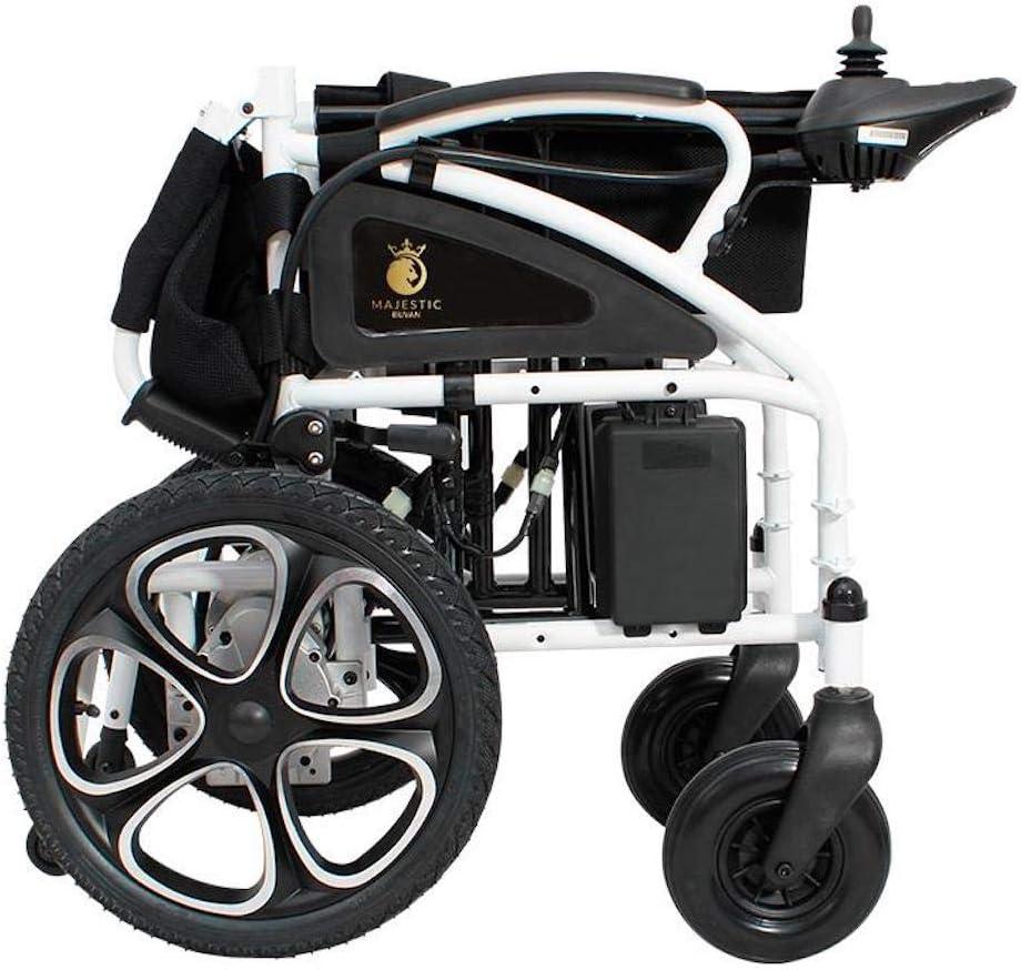 Amazon.com: Silla de ruedas eléctrica 2020, silla de ruedas ...