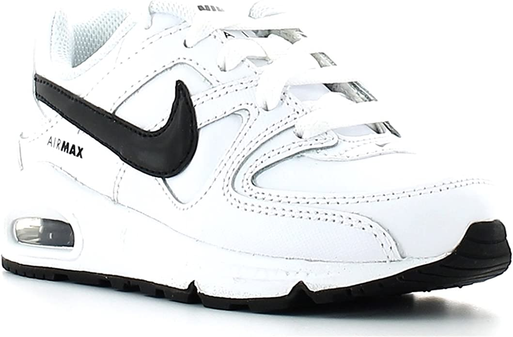 Nike Air Max Command Leather (PS) Schuhe white black 29,5