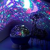 Elecstars ZJB00186-XxdBlue Star Night Light Projector - Projection for Children Kids Romantic Magical Star Night Lamp Rotating 3 Modes, Children Kids Gift Toys Men Women Teens Sleeping A