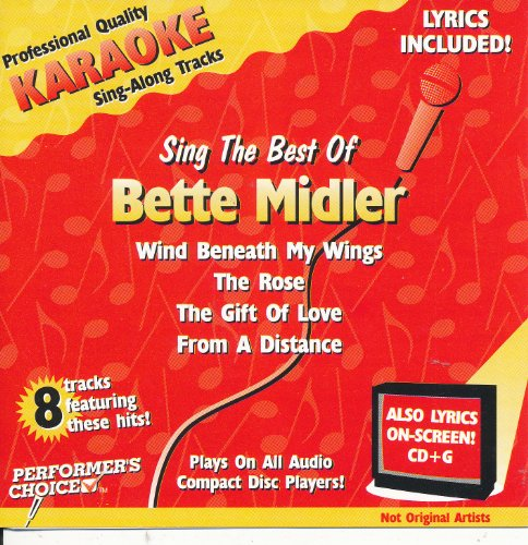 Bette Midler - Sing The Best Of Bette Midler - Karaoke - Zortam Music