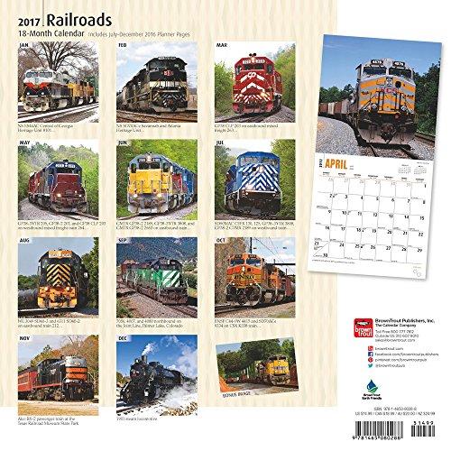 Railroads 2017 Square (Multilingual Edition)