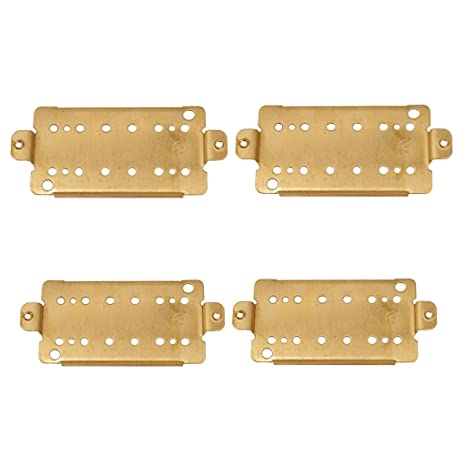 MagiDeal Guitarra Pastilla Humbucker Doble Bobina Pickup Placa Base para Guitarras Eléctricas 50mm + 52mm