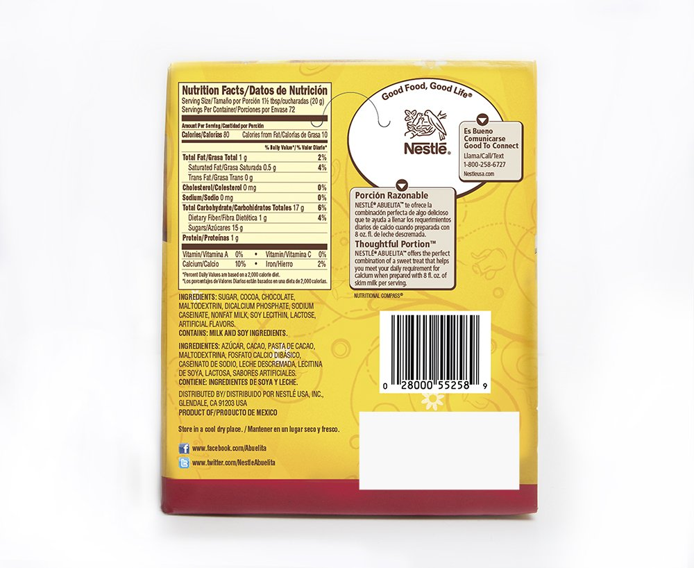 Amazon.com : Abuelita Granulated Powder Hot Chocolate Drink Mix, 48 Count : Grocery & Gourmet Food