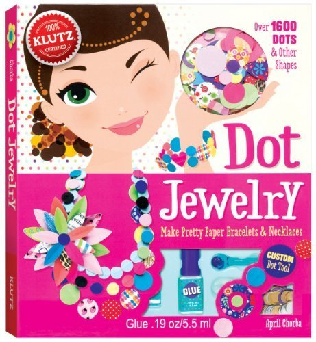 Dot Jewelry (Dot Jewelry: Make Pretty Paper Bracelets & Necklaces (Klutz) by Chorba, April (2013) Paperback)
