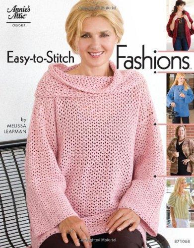 Annies Attic Crochet - Easy-to-Stitch Fashions (Annie's Attic Crochet)