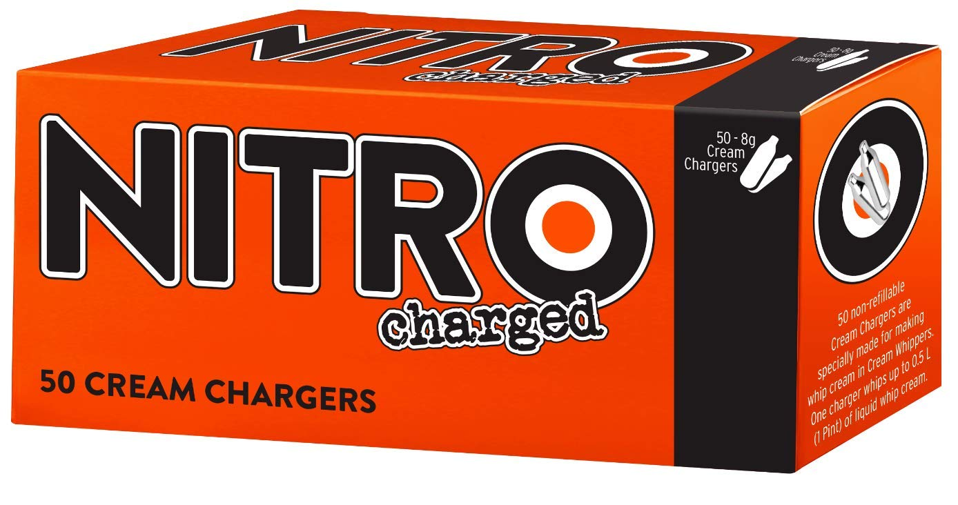 BestWhip Nitro Charged Cream Chargers - 50 pk Whip Whipped Cream
