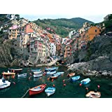 Cinque Terre,Italy - Art Print on Canvas (28x20 inches , unframed)