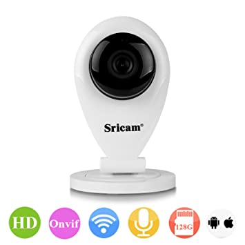Sricam SP009 720P 1MP Wireless Webcam Security IP Camera P2P For Smartphone PC