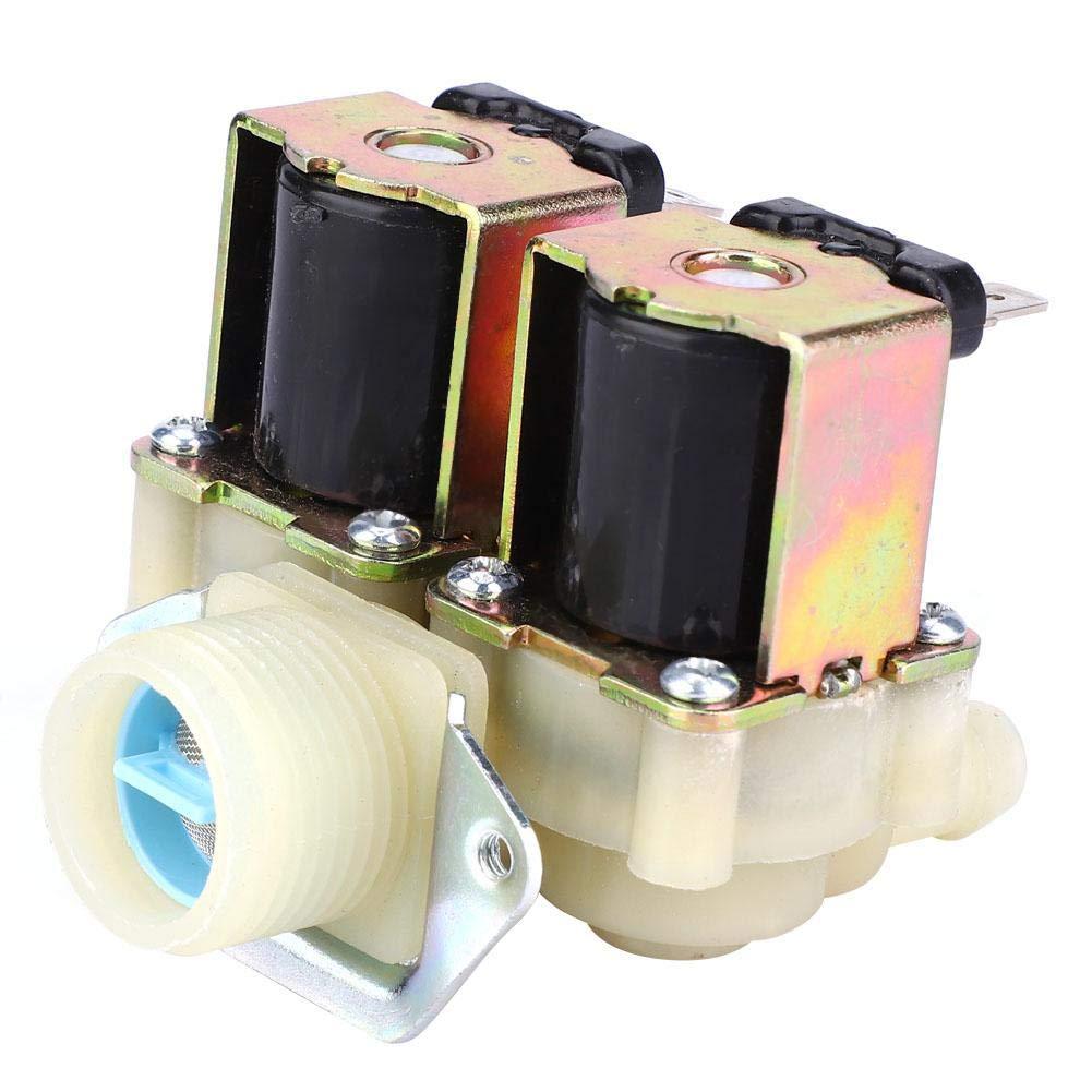 unidireccional AC220V G3 // 4 NC Normalmente cerrado,Interruptor de entrada de agua para lavadora,V/álvula electromagn/ética,Roscas de precisi/ón,Alta presi/ón resistente V/álvula solenoide guiada