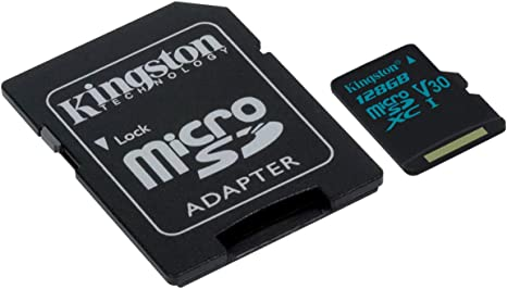 Amazon.com: Kingston Canvas - Tarjeta de memoria Micro SDXC ...