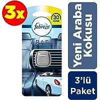 Febreze Hava Ferahlatıcı 3x2 ml (6 ml) Yeni Araba Kokusu