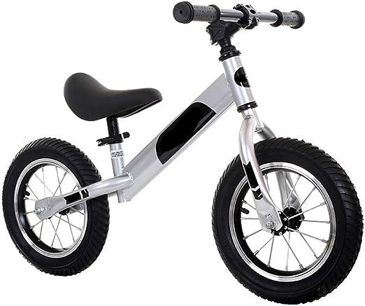 WHTBOX Bicicleta de Equilibrio para Aprender,Bicicleta de Equilibrio Infantil,Walking,CóModo,Bicicleta para NiñOs Y NiñOs De 2 a 6 AñOs,Black: Amazon.es: Jardín