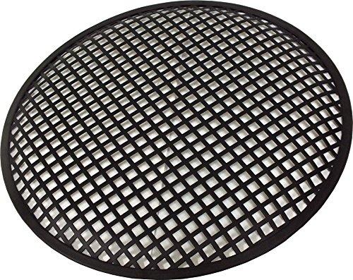Griglia metallica professionale a maglie larghe con clip fissaggio diametro 300 mm