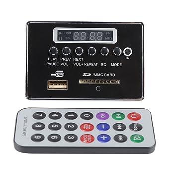 Placa del decodificador DC12V Bluetooth MP3 USB Tarjeta del ...