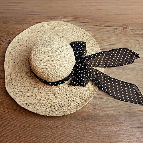 Cap Verano Sombreros Son Sombrero Resort miss Obligatorio De Código Beach Seaside Femenino Zhangyong Sandy Tailandia Visor Paja Color Playa xgpWP