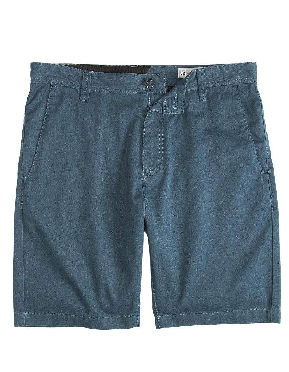 Volcom Frickin Drifter Heather Blue Shorts