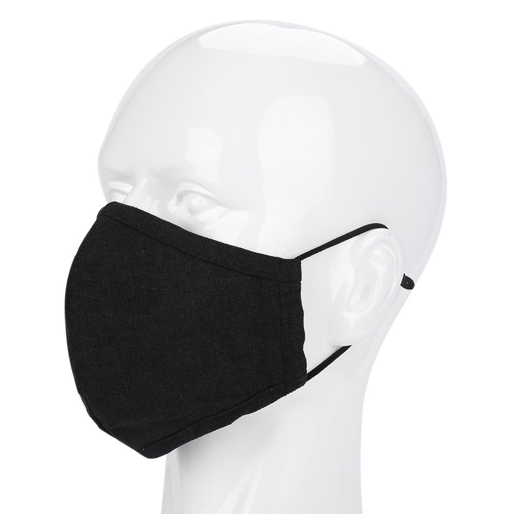masque virus noir